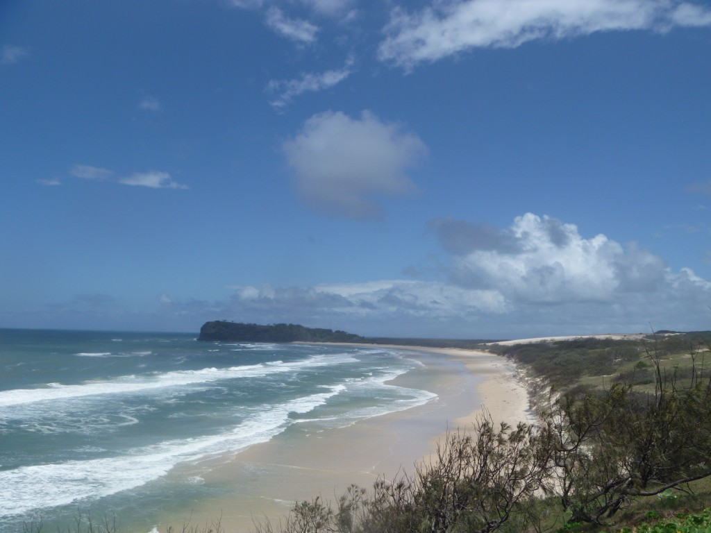 A view of 75 mile Beach from Indian Head